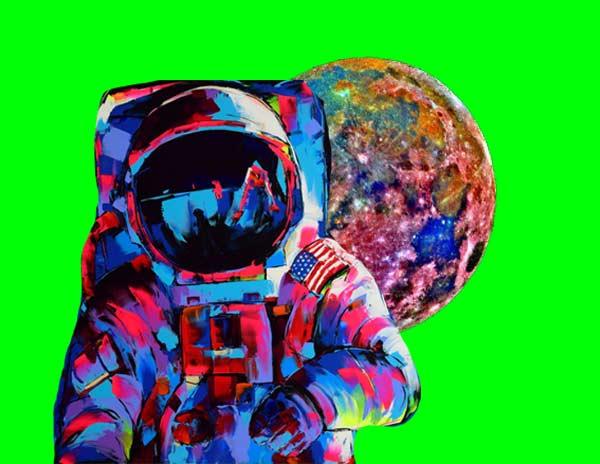 Immagine web design - uomo astronauta - Ideandum Medical Aesthetic